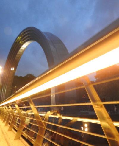 Велопішохідний міст над Володимирським узвозом