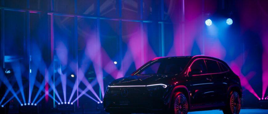Презентація Mercedes-Benz EQA в Польщі (Prolights)